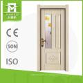 Las puertas clásicas del interior de la puerta de la puerta para inodoro melamina puerta de madera