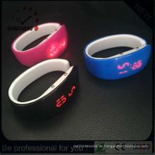 Fashion Lady Silikon Armband Digital LED Uhr (DC-1355)