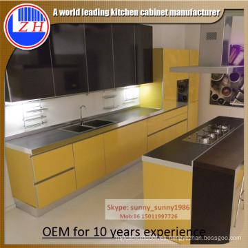 Gabinete de acrílico para la cocina