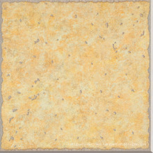 Yellow Rough Rustic Metallic Porcelain Tile (D6086)