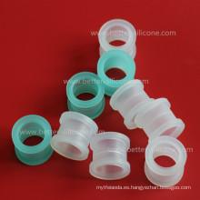 Casquillo de goma de silicona de elastómero plástico
