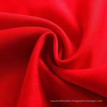 double side interlock polyester spandex blend fabric