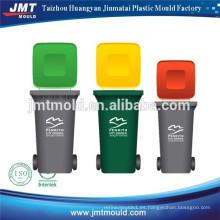 fabricante de moldes de inyección de cubo de basura de plástico