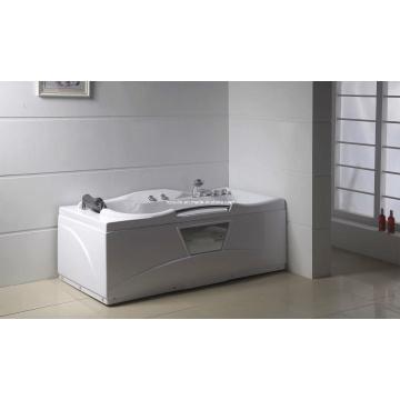 Baignoire en carton blanc acrylique pour bain à remous (M-06)