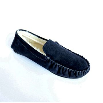 Man's Moccasin Schuhe mit Toe Cap Line Code