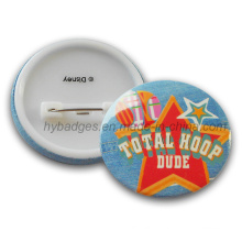 Custom Tin Button Badge Printing Colorful Badge (GZHY-MKT-008)