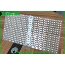 Exposição de vidro do diodo emissor de luz P16 / exposição de diodo emissor de luz janela de vidro / exposição de diodo emissor de luz de vidro transparente
