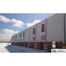 Maison de conteneur d'expédition pour le camp de travail / bureau / logement