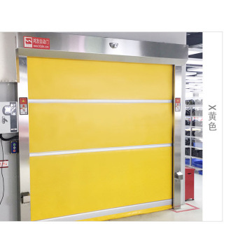 Inredning Auto PVC Rolling High Speed ​​Door