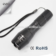 5-Mode XM-L T6 LED Flashlight Zoomable Focus Torch par 1 * 18650 ou 3 * AAA