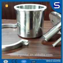 304 316 extractor de carrete triclamp, reductor de tapa final (personalizar)