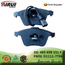 NAO Brake Pads OE Quality (OE: 4E0 698 151 F FMSI: D1111-7796)