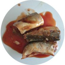 Консервы из жестяной рыбы Jack Mackerel в томатном соусе
