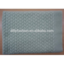 knitted baby 100% cashmere blanket