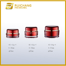 Round Shape Acrylic Cream Jar