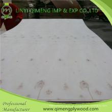 Fornecimento de Linyi Qimeng 3mm contraplacado de álamo com boa qualidade