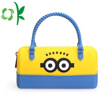 Silicone Cute Women Lady Hand Bag Purse Bag