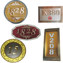 Number Directional Signage System as Advertising Signages
