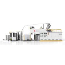 Fabricación de máquina de película estirable de alta velocidad con brazo oscilante automático
