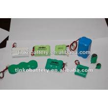 teléfono inalámbrico batería NI-CD recargable con su marca