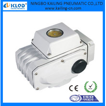 24V DC mini electric actuator for ball valve and butterfly valve KLST-02