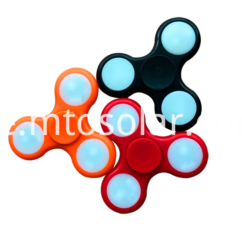 finger hand led spinner