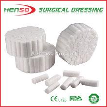 Rolo de algodão dental absorvente Henso