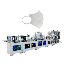 Wholesale Facemask N95 Cup Musk Making Machine China Automatic 3d Price Manufacturing Plant Ce Stainless Steel Provided 220v PLC