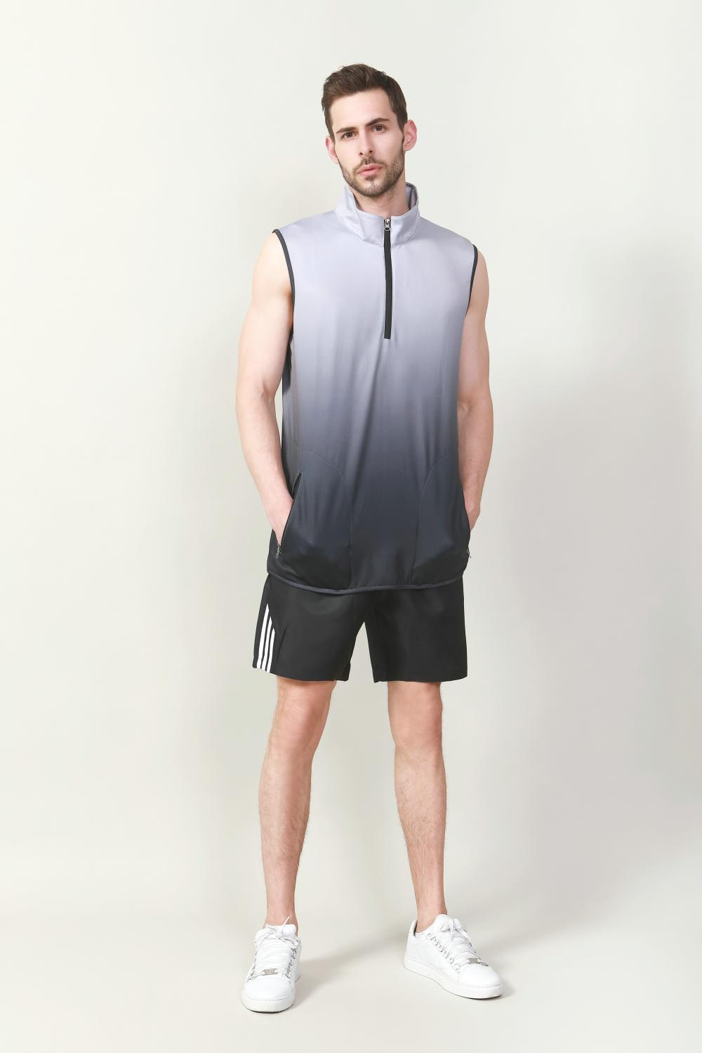 Men's side piping shorts