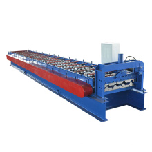 Automatic steel cladding roof panel roll forming machine