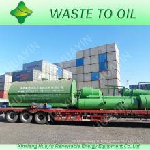 SGS Air Reports usine de pétrole de pyrolyse des pneus aux Émirats Arabes Unis sans décharge