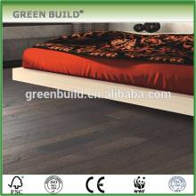 T&G system Grey hickory hardwood flooring