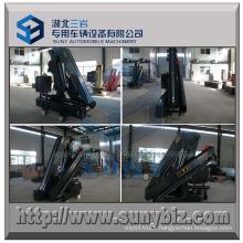 5000 Kg 5t 2 Hydraulic Folding Boom Truck Mounted Crane
