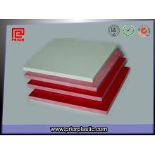Лист ГПО-3 для панелей управления с красным и белым цветом