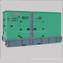 60kVA 48kw Soundproof Doosan Engine Diesel Genset