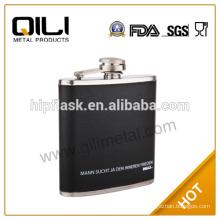 FDA 100 ml stainless steel painting test tube customized shot glasses wholesale flask