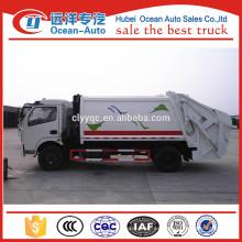 10CBM Dongfeng usado compacto de basura del vehículo