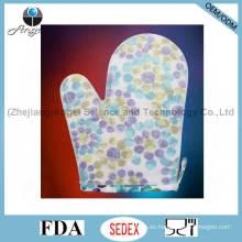 Anti-Scratch cocina de silicona guante de cocina con Sg23 de longitud corta
