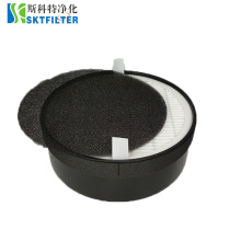 Activated Carbon Air Filter Round Filtrete for Levoit LV-H132 Home Air Purifier