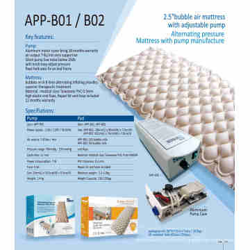 medical air mattress bubble mattress for hospital bed