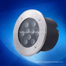 Eclairage souterrain à LED étanche 9w