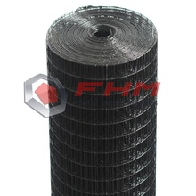 Black Vinyl Coated Welded Wire Mesh for Garden