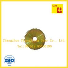 El acero de carbono de alta calidad Zinc Plating-Yellow Plate Wheel
