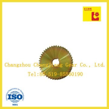The High Quality Carbon Steel Zinc Plating-Yellow Plate Wheel