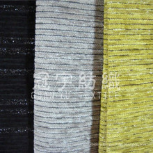 Yarn Dyed Polyester Chenille Fabric for Home Upholstery