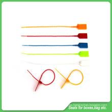 Cerraduras de plástico, longitud 230mm, un tiempo de bloqueo plástico