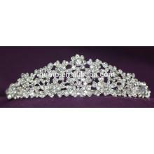 Fashion Custom Crystal Crown Wedding Tiara For Bridal