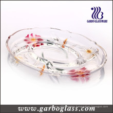 Lily Glass Plate (GB1728LB/PDS)