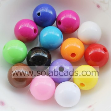 Supply 8mm Colored Ball Smooth Pandora Beads