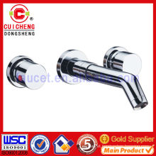Brass Double Hole basin mixer faucet for bathroom 3326 ISO9001:2008 Certificate,Gold lavatory faucet,Elegant!
